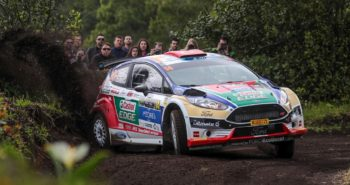 14 BOSTANCI Murat VATANSEVER Onur Ford Fiesta R5 Action during the 2017 European Rally Championship ERC Azores rally,  from March 30  to April 1, at Ponta Delgada Portugal – Photo Jorge Cunha / DPPI