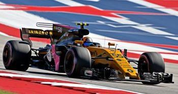 Carlos Sainz Jr (ESP) Renault Sport F1 Team RS17. United States Grand Prix,